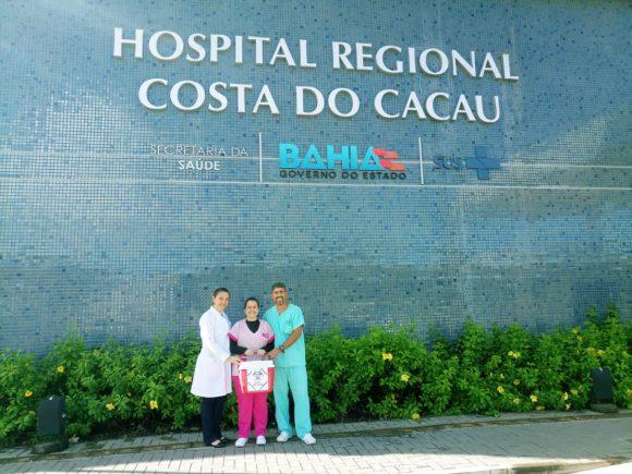 HOSPITAL COSTA DO CACAU INICIA ANO COM NOVAS CAPTAÇÕES DE ÓRGÃOS