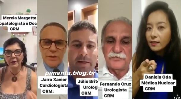 #FIQUEEMCASA: MAIS DE 50 MÉDICOS DE ITABUNA E ILHÉUS FAZEM APELO À POPULAÇÃO