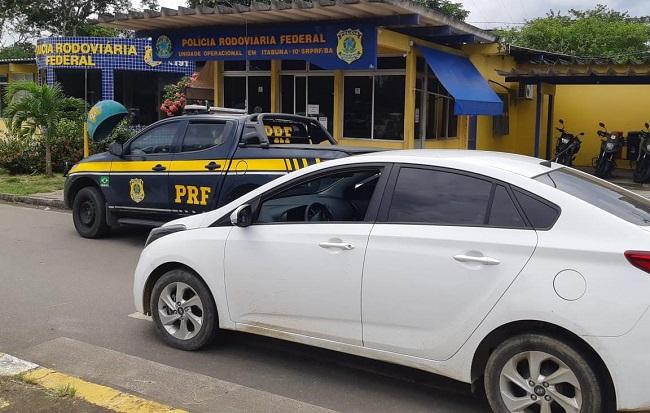 CARRO É APREENDIDO EM ITABUNA UM DIA DEPOIS DE ROUBADO EM SALVADOR