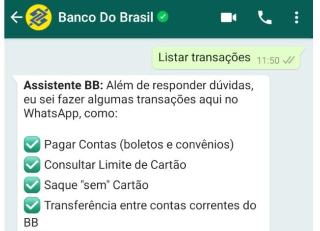 BB RENEGOCIA MAIS DE R$ 7 MILHÕES PELO WHATSAPP