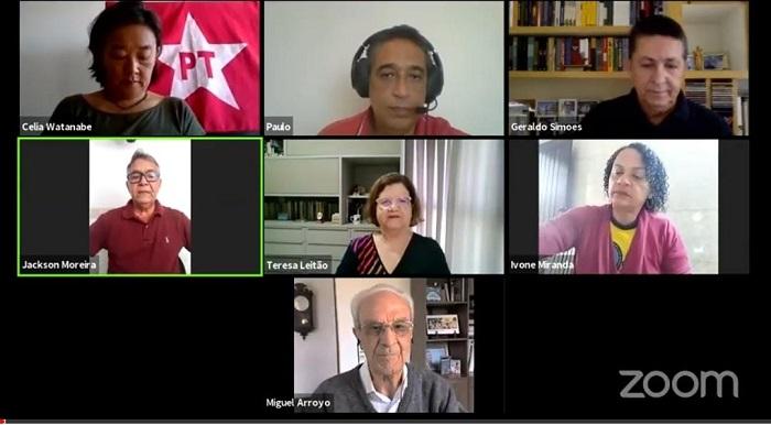MIGUEL ARROYO, TERESA LEITÃO E PAULO GABRIEL DEBATEM PROPOSTAS PARA A EDUCAÇÃO DE ITABUNA