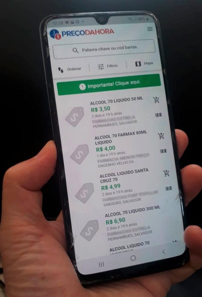APLICATIVO PREÇO DA HORA BAHIA ALCANÇA 300 MIL USUÁRIOS