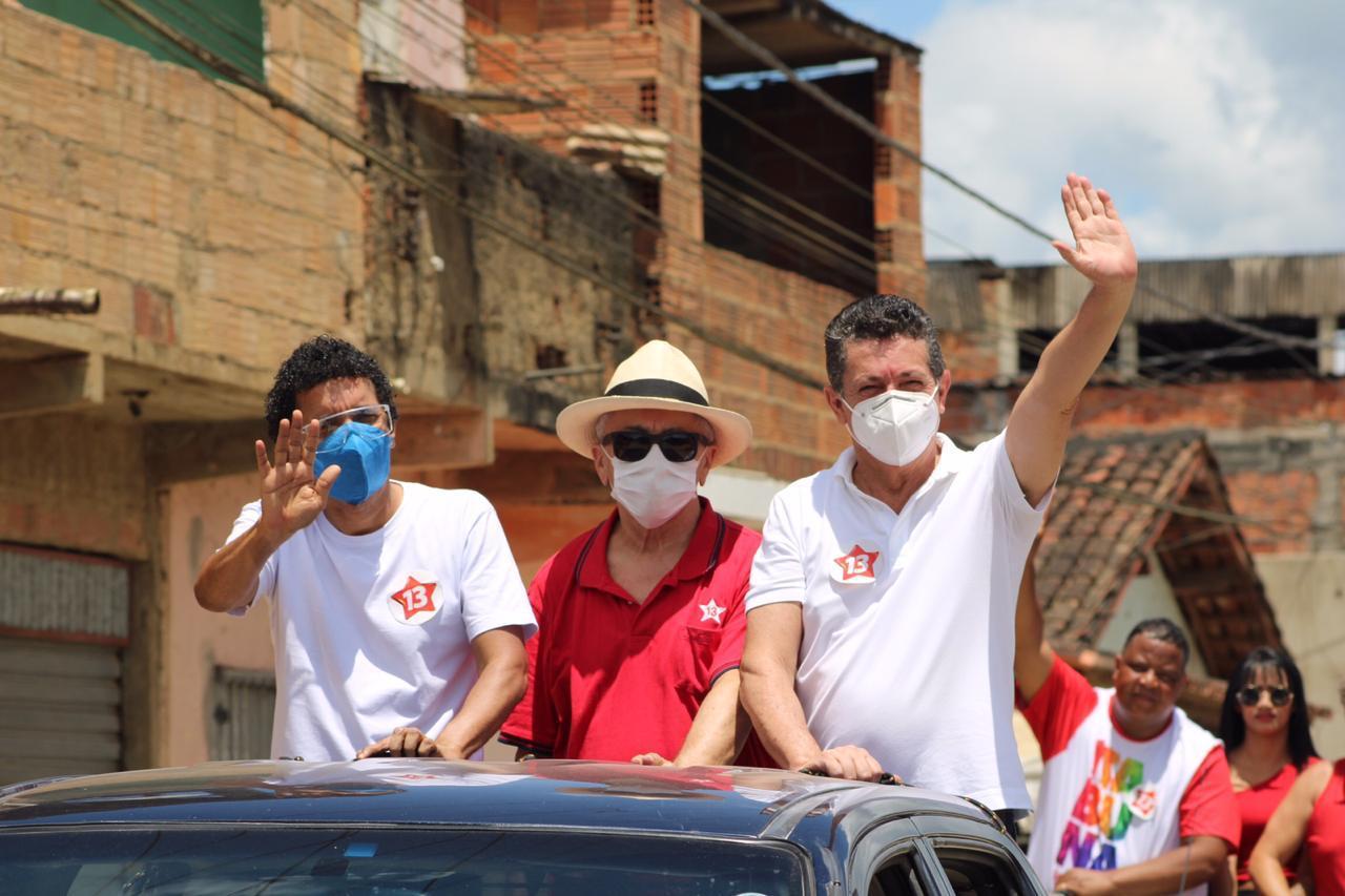 CARREATA NA REGIÃO DO SÃO CAETANO ABRE CAMPANHA DE GERALDO E JAIRO