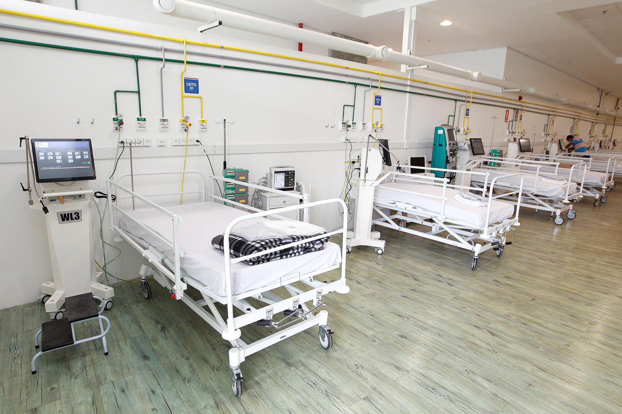 COM FORTE QUEDA NA DEMANDA, HOSPITAL DE CAMPANHA DA FONTE NOVA SERÁ DESATIVADO