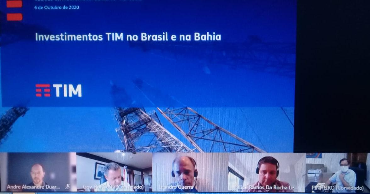 TIM ANUNCIA EXPANSÃO DE SINAL 4G PARA MAIS 20 CIDADES BAIANAS