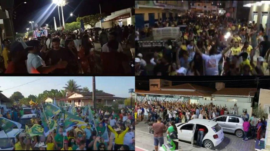 COVID-19: CENTRO DE OPERAÇÕES RECOMENDA PROIBIR PASSEATAS E COMÍCIOS NA BAHIA
