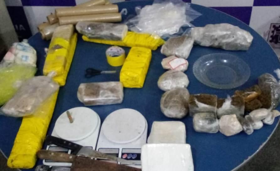 ITABUNA: TRAFICANTE É PRESO COM 10 QUILOS DE DROGAS