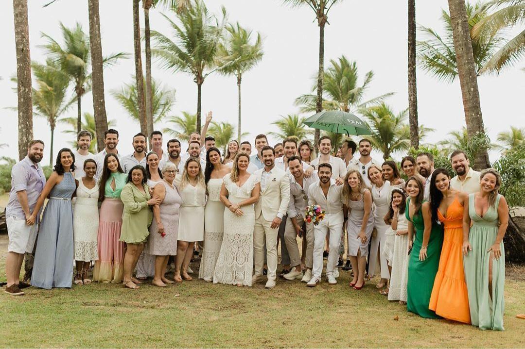 Festa de casamento do médico Rabelo