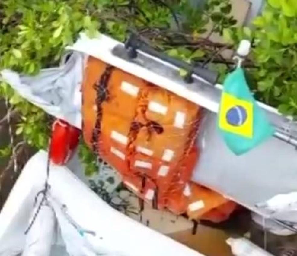 COLISÃO ENTRE LANCHAS DEIXA UM MORTO E TRÊS FERIDOS NO RIO BOIPEBA
