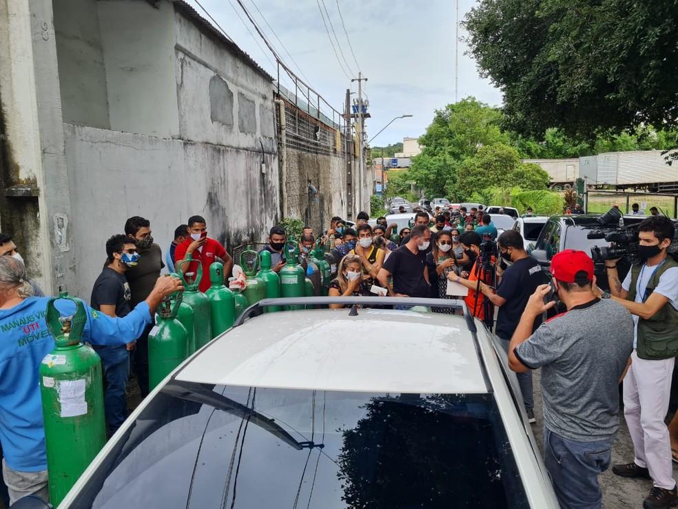 DENÚNCIA DO PSOL PEDE INVESTIGAÇÃO DA OMS POR FALTA DE OXIGÊNIO EM MANAUS