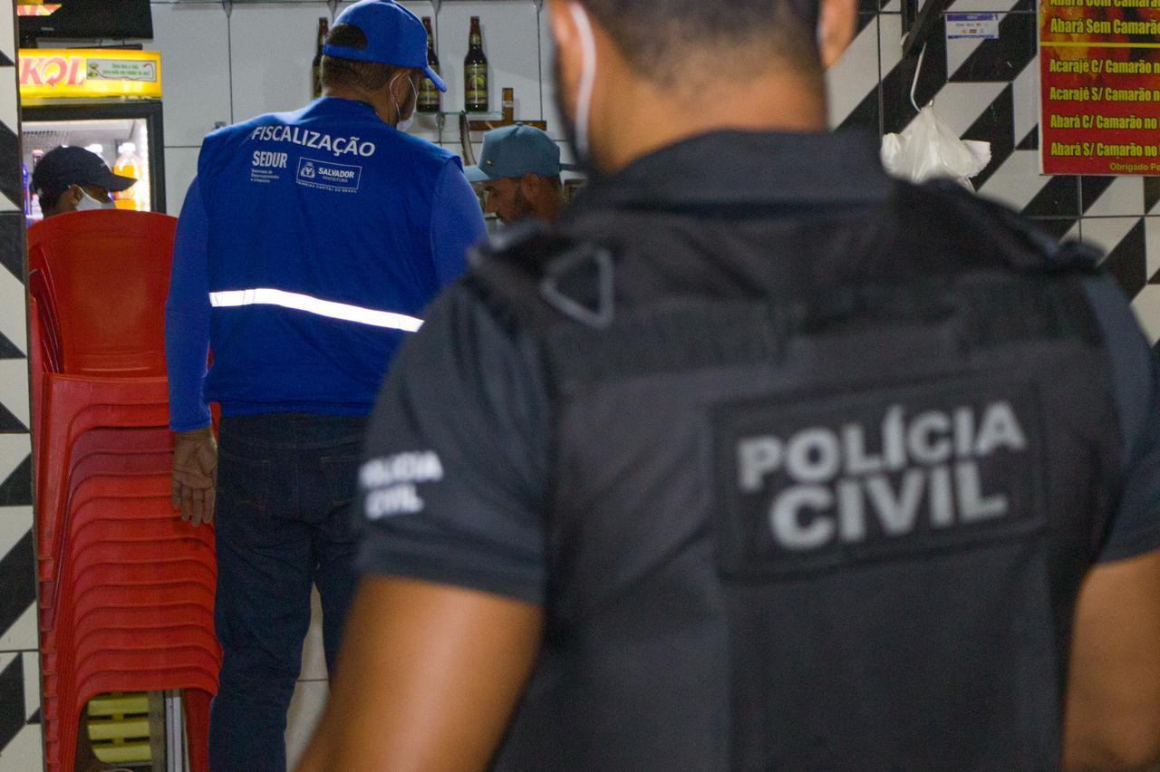 TOQUE DE RECOLHER COMEÇA COM DETENÇÕES EM IPIAÚ, ITABUNA E TEIXEIRA DE FREITAS