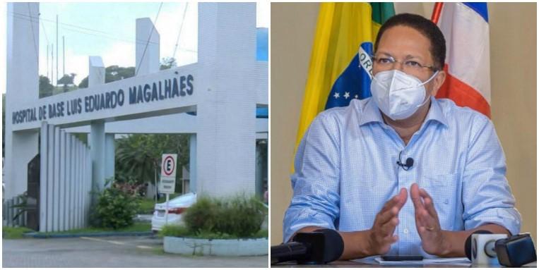 HOSPITAL DE BASE VAI ABRIR MAIS 5 LEITOS DE UTI COVID, ANUNCIA AUGUSTO