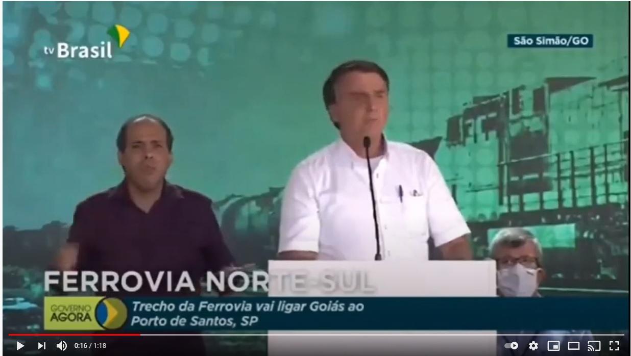 """CHEGA DE FRESCURA E MIMIMI"", DIZ BOLSONARO SOBRE PANDEMIA"