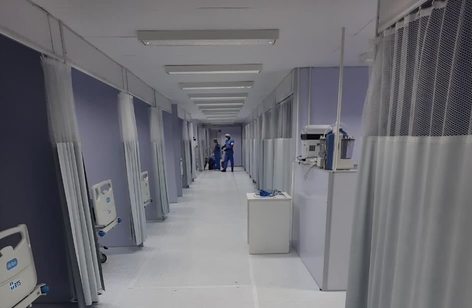 ITABUNA: COM 20 LEITOS DE UTI, HOSPITAL DE CAMPANHA ENTRA EM OPERAÇÃO NA TERÇA
