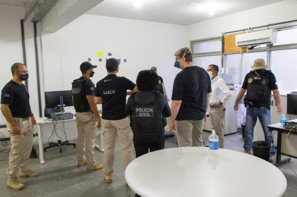 MP-BA E POLÍCIA CIVIL CUMPREM NOVA FASE DE OPERAÇÃO QUE INVESTIGA QUADRILHA DO DETRAN-BA