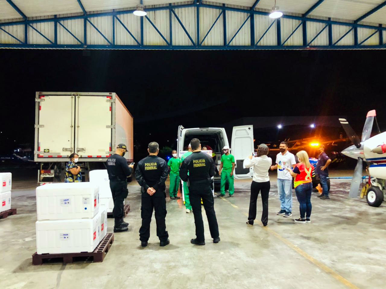 BAHIA RECEBE NOVA REMESSA COM 165,6 MIL DOSES DA VACINA CORONAVAC