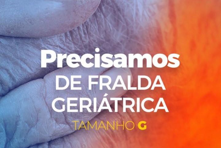 ABRIGO DE IDOSOS DE ILHÉUS PEDE DOAÇÕES DE FRALDAS GERIÁTRICAS