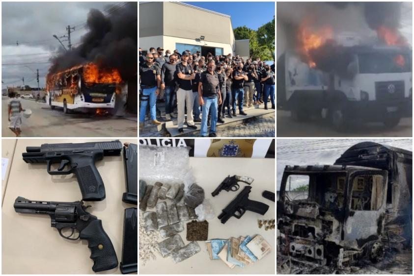 OPERAÇÃO PRENDE 12 SUSPEITOS DE ENVOLVIMENTO COM ATENTADOS EM EUNÁPOLIS