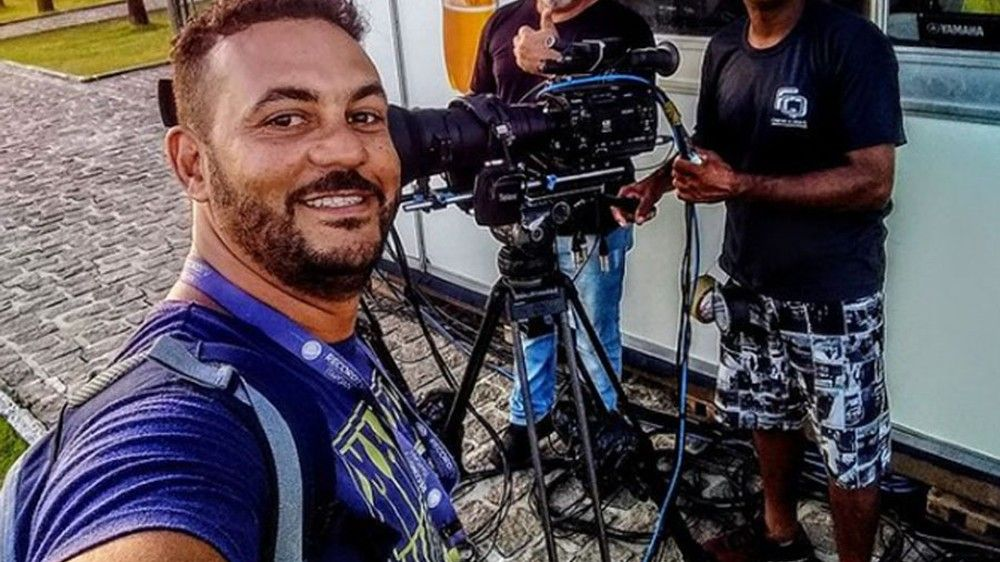 MORTO A TIROS, PRODUTOR DA TV RECORD ERA DO SUL DA BAHIA