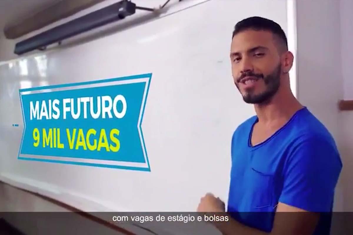 """ESTADO PAGA NOVA PARCELA DO """"MAIS FUTURO"""" A UNIVERSITÁRIOS"""