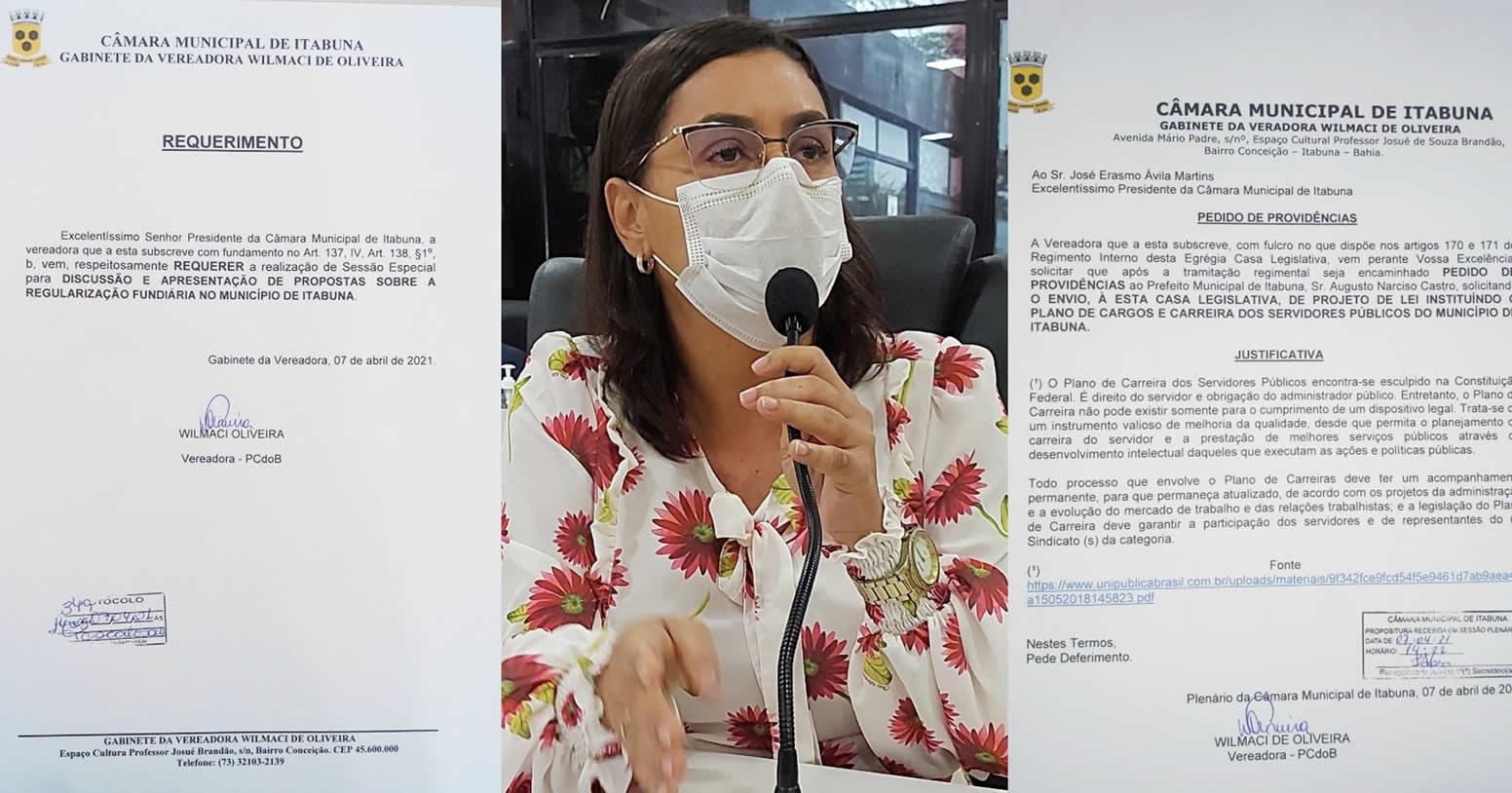 ITABUNA: WILMACI DEFENDE IMPLANTAÇÃO DO PLANO DE CARGOS E SALÁRIOS DO SERVIDOR
