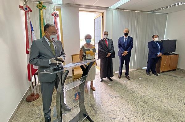 TRIBUNAL DE JUSTIÇA DA BAHIA EMPOSSA NOVOS DESEMBARGADORES